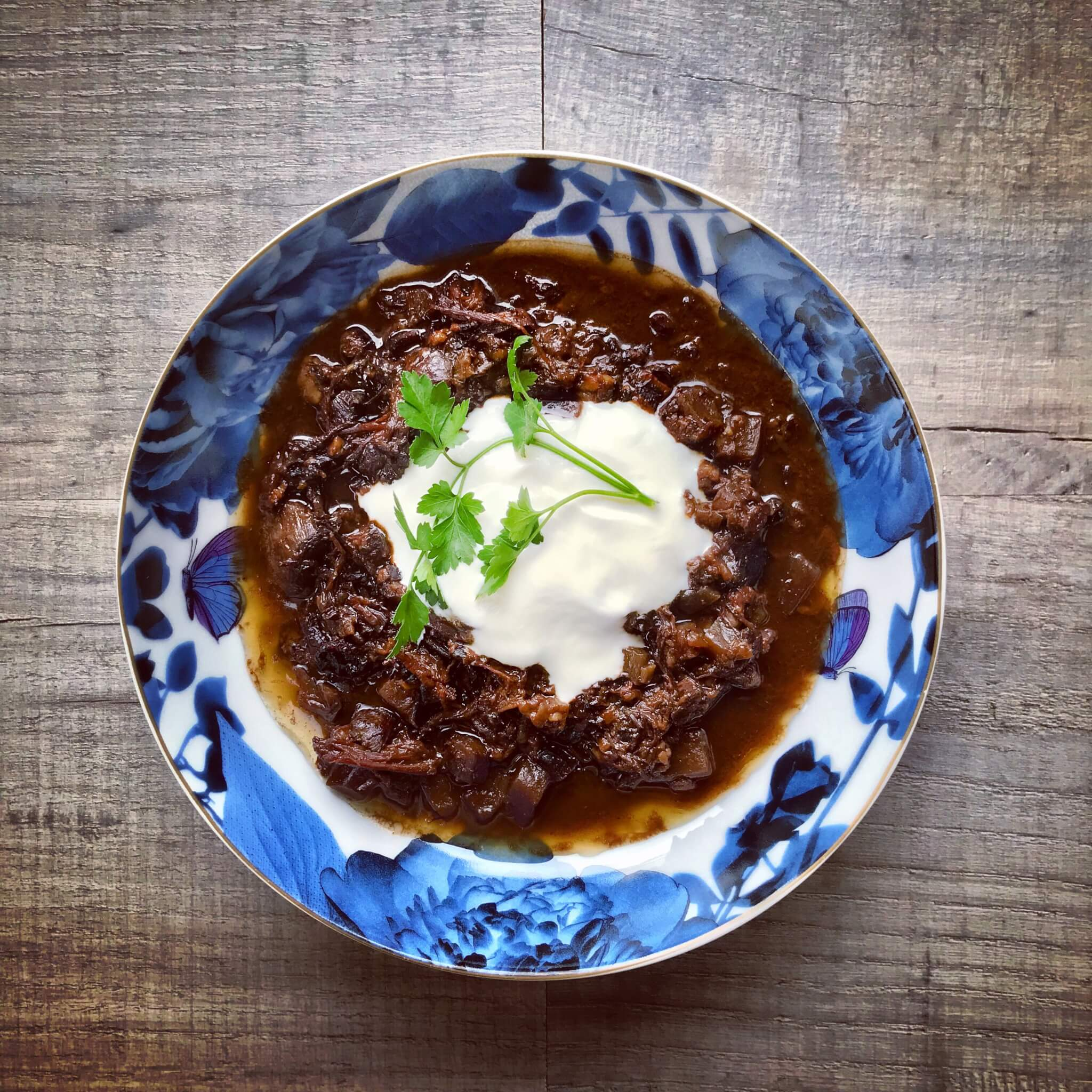 Beef, beetroot, prune, orange and chocolate stew recipe - real food