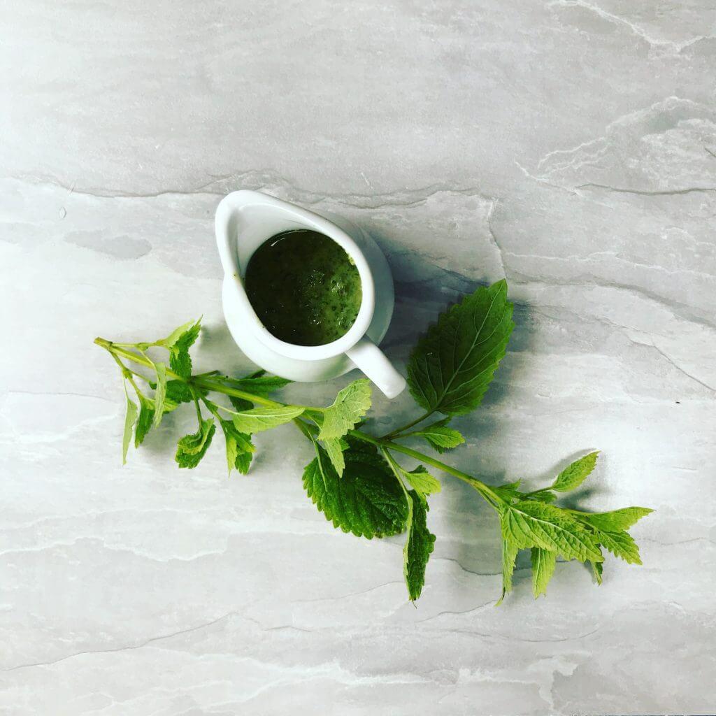 Lemon Balm Salsa Verde