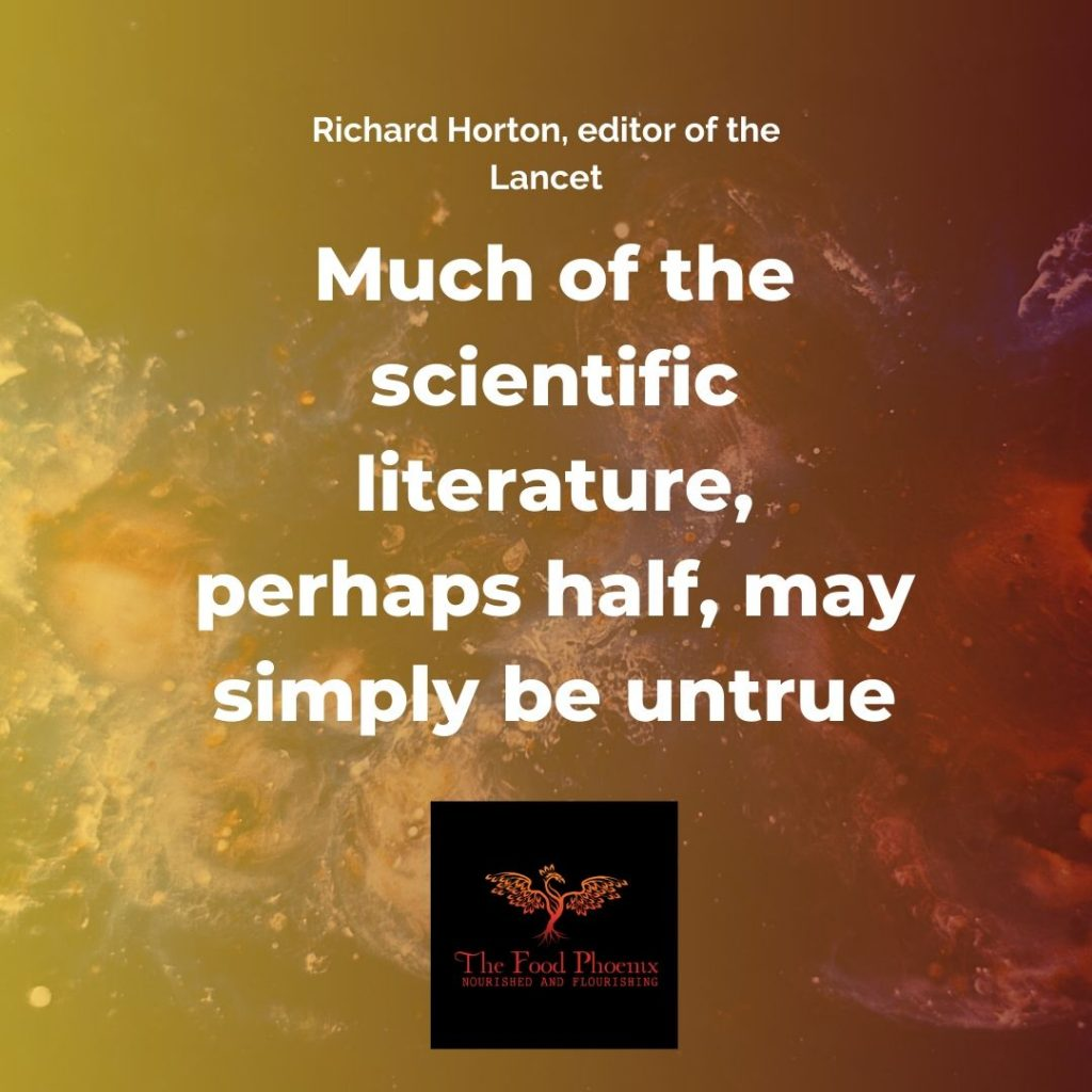 Much of the scientific literature, perhaps half, may simply be untrue