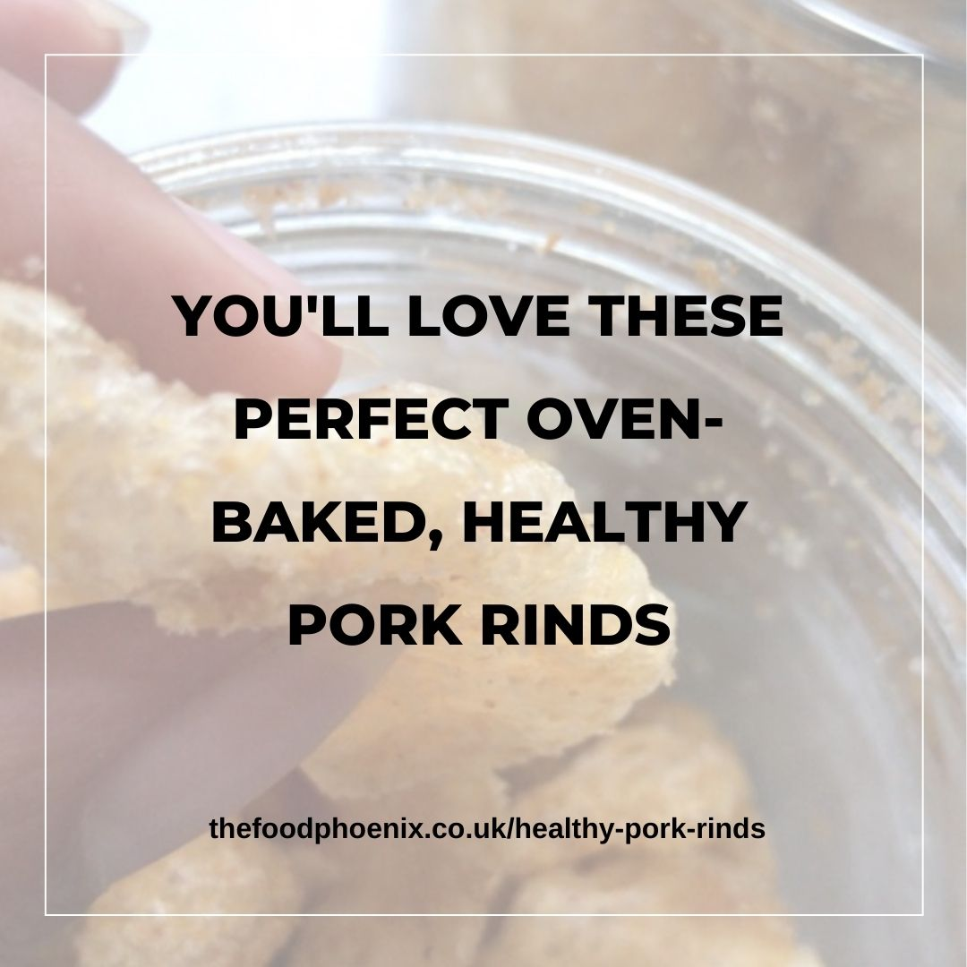 You'll love these perfect oven-baked, healthy pork rinds