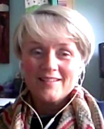 Portrait of client Claire McGuigan