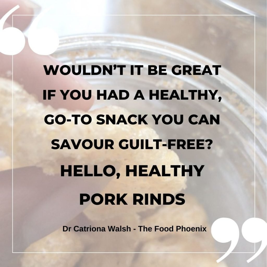 Recipe for pork rinds - Wouldn't it be great if you could savour a healthy go-to snack guilt-free? Hello, healthy pork rinds
