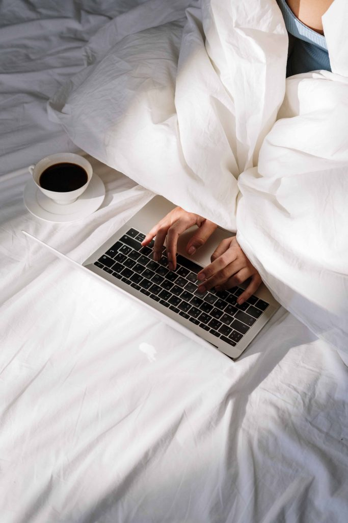 Is working in bed the new normal?