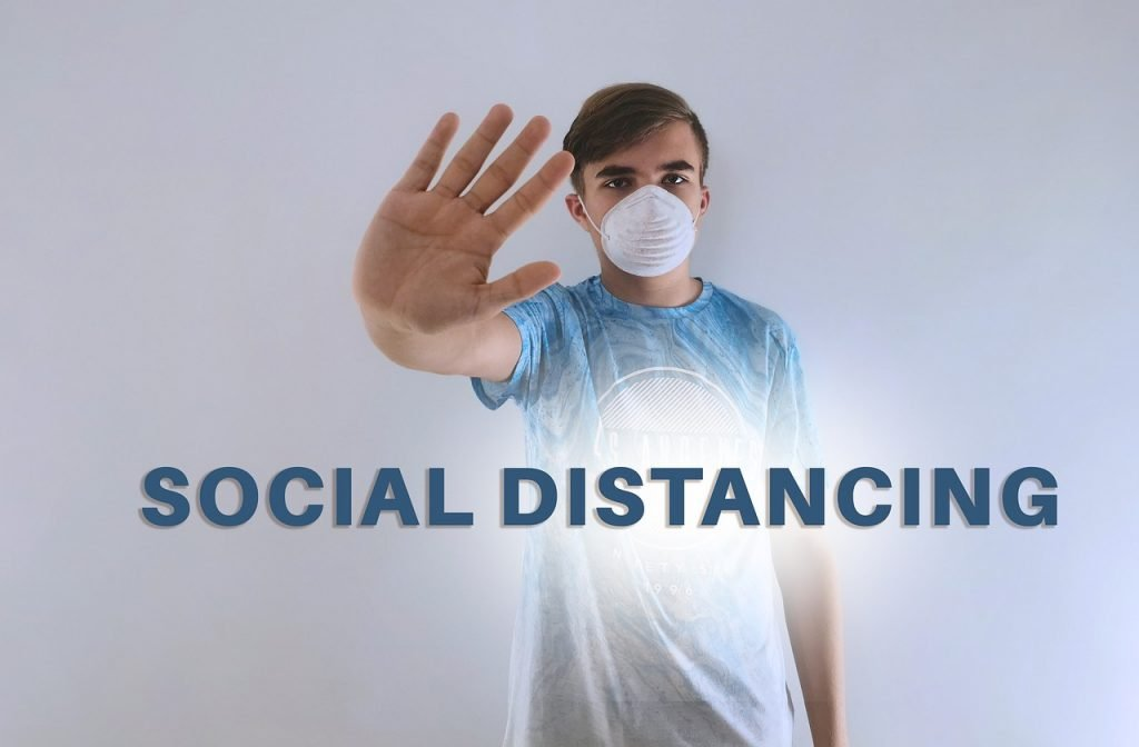 The price of social distancing and wearing masks