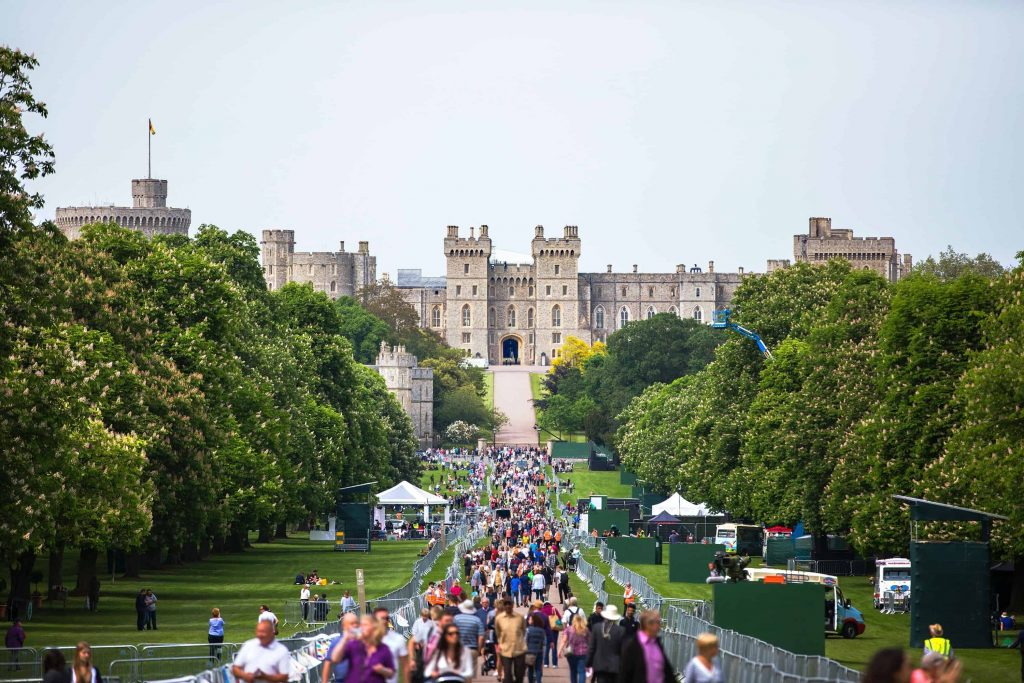Windsor palace before harry and meghan's wedding